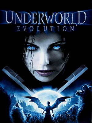 Kate BEckinsale Underworld Evolution Poster