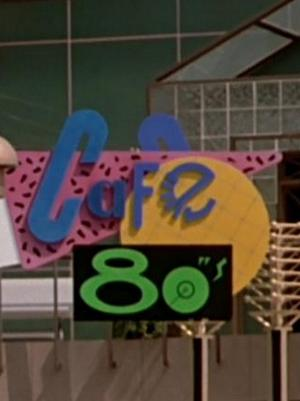 Filmovi iz 1985. - Back to the Future Cafe 80s