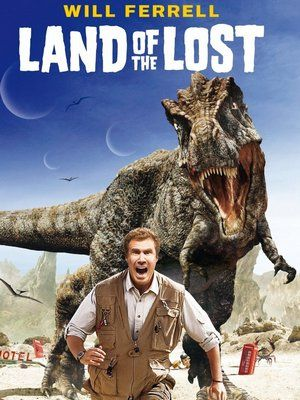 Poster - Will Ferrell Land of the Lost