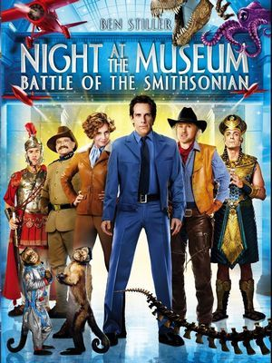Poster - Night at the Museum Battle of the Smithsonian